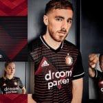 Les maillots adidas 2020-2021 du Feyenoord Rotterdam