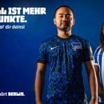Le Hertha Berlin présente ses maillots Nike pour 2020-2021