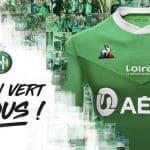 Saint-Etienne présente ses maillots 2020-2021 avec Le Coq Sportif