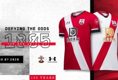 Image de l'article Under Armour dévoile les maillots 2020-2021 de Southampton