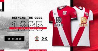 Image de l'article Under Armour dévoile les maillots 2020-2021 de Southampton