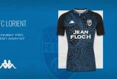 Image de l'article Kappa dévoile les maillots 2020-2021 du FC Lorient