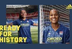 Image de l'article adidas et l'Olympique Lyonnais lancent les maillots 2020-2021