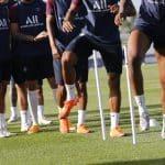 La composition en chaussures de PSG – Bayern