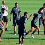 La composition en chaussures de Juventus – Lyon
