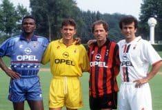 Image de l'article En 1995, l'AC Milan portait déjà un maillot bleu