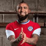 Les maillots 2020 du Chili présentés par Nike