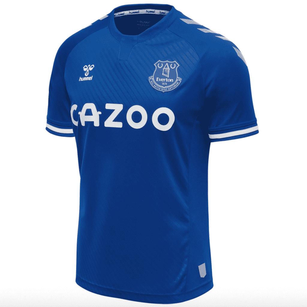 maillot-domicile-everton-2020-2021-hummel