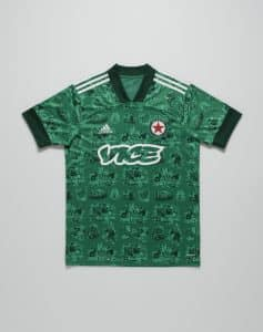 Maillot Domicile du Red Star