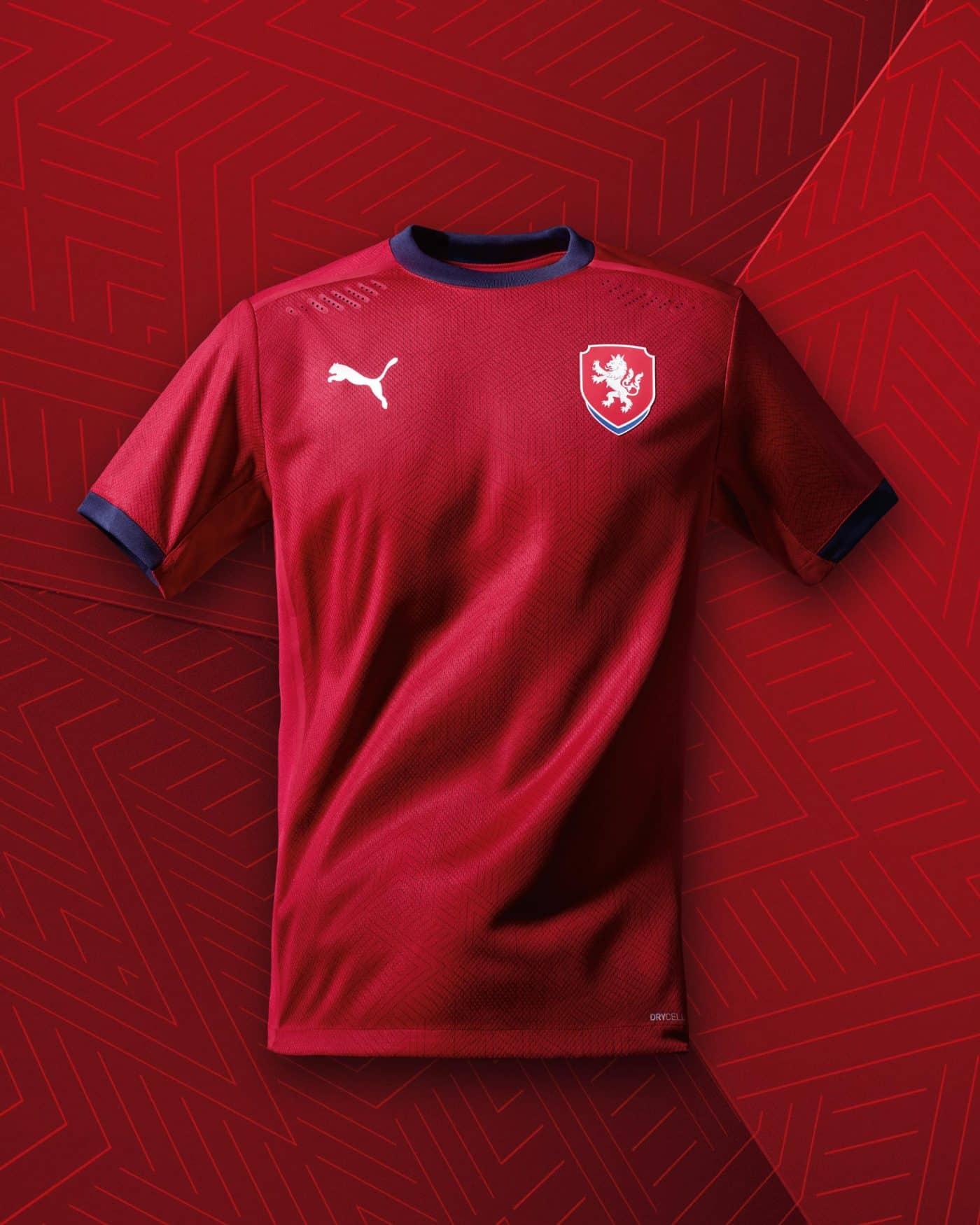 maillot-domicile-republique-tcheque-euro-2020-puma