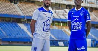Image de l'article Le Coq Sportif et le club de Troyes officialisent les maillots 2020-2021
