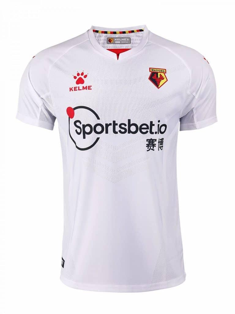 maillot-exterieur-watford-2020-2021-kelme