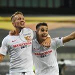Contre Man Utd, les maillots du FC Séville comportaient une erreur de flocage