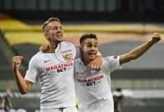 Image de l'article Contre Man Utd, les maillots du FC Séville comportaient une erreur de flocage