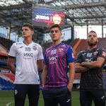 Joma lance les maillots 2020-2021 du CSKA Moscou