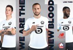 Image de l'article Lille et New Balance présentent les maillots 2020-2021