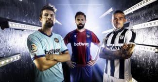 Image de l'article Levante et Macron dévoilent les maillots 2020-2021