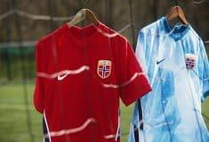 Image de l'article Nike présente les maillots de la Norvège pour 2020
