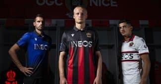Image de l'article L'OGC Nice et Macron présentent les maillots 2020-2021