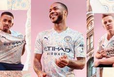 Image de l'article Le troisième maillot de Manchester City inspiré de la mode et de la musique