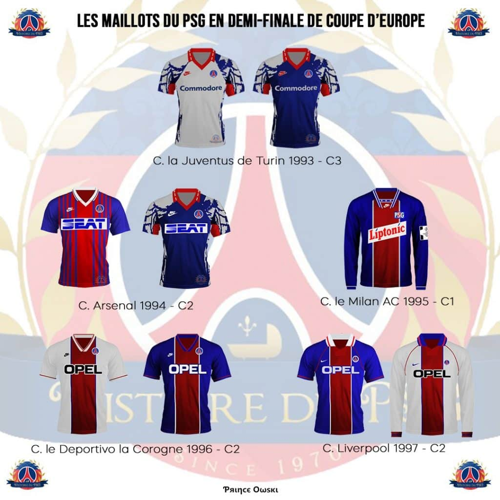 maillots-psg-demi-finales-coupe-europe