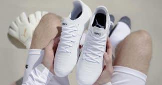 Image de l'article Puma Football présente une King Platinium entièrement blanche