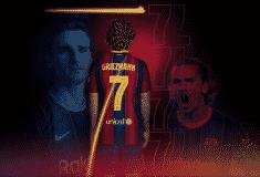 Image de l'article Antoine Griezmann récupère le numéro 7 au Barça !