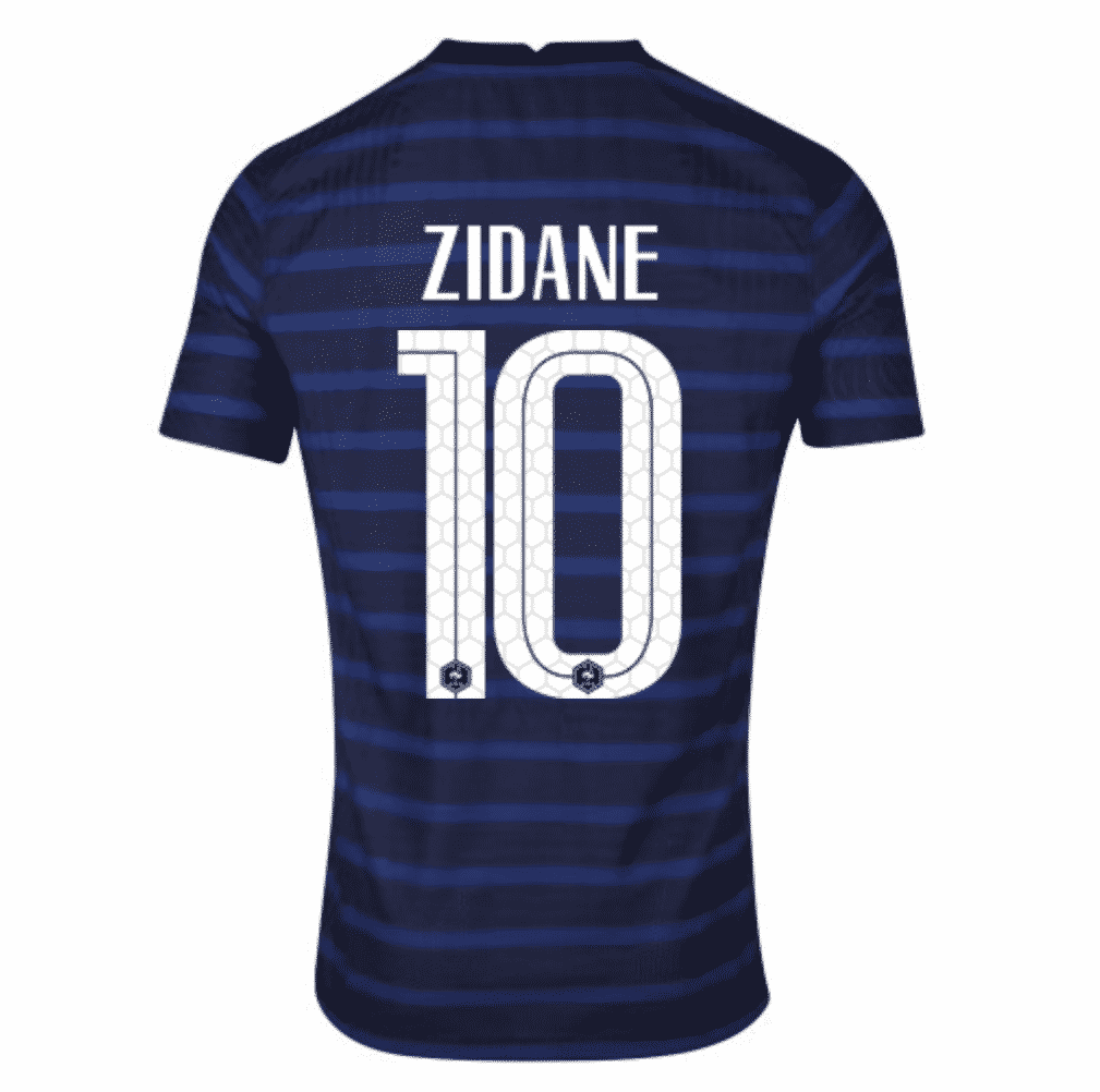 flocage-zidane-maillot-equipe-de-france