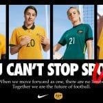 Nike présente les maillots 2020 de l'Australie