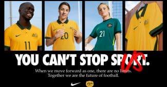 Image de l'article Nike présente les maillots 2020 de l'Australie