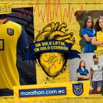 Les maillots 2020 de l'Équateur, dévoilés par la marque Marathon