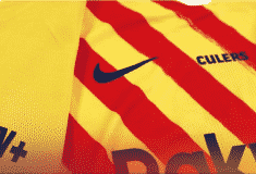 Image de l'article Pour son premier match 2020-2021, le Barça va porter un maillot de la saison dernière…