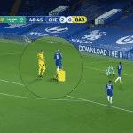 Contre Chelsea, un joueur joue avec un maillot sans nom et sans numéro
