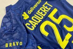 Image de l'article Contre Nîmes, les joueurs de l'OL porteront un maillot pour célébrer l'équipe féminine