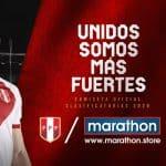 Les maillots 2020 du Pérou présentés par la marque Marathon