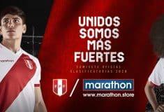Image de l'article Les maillots 2020 du Pérou présentés par la marque Marathon