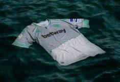 Image de l'article Inspiré d'un fleuve, le maillot third du Betis a été dévoilé par Kappa