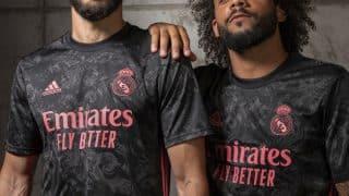 Image de l'article Un troisième maillot d'inspiration baroque pour le Real Madrid