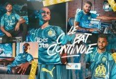 Image de l'article L'OM dévoile son maillot de Champions League avec Puma !