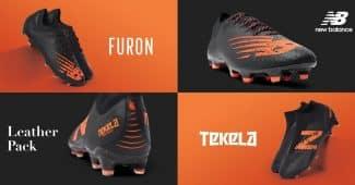 Image de l'article Un pack de crampons entièrement en cuir pour New Balance Football