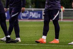 Image de l'article Les crampons des joueurs de l'équipe de France (Ukraine, Portugal, Croatie)