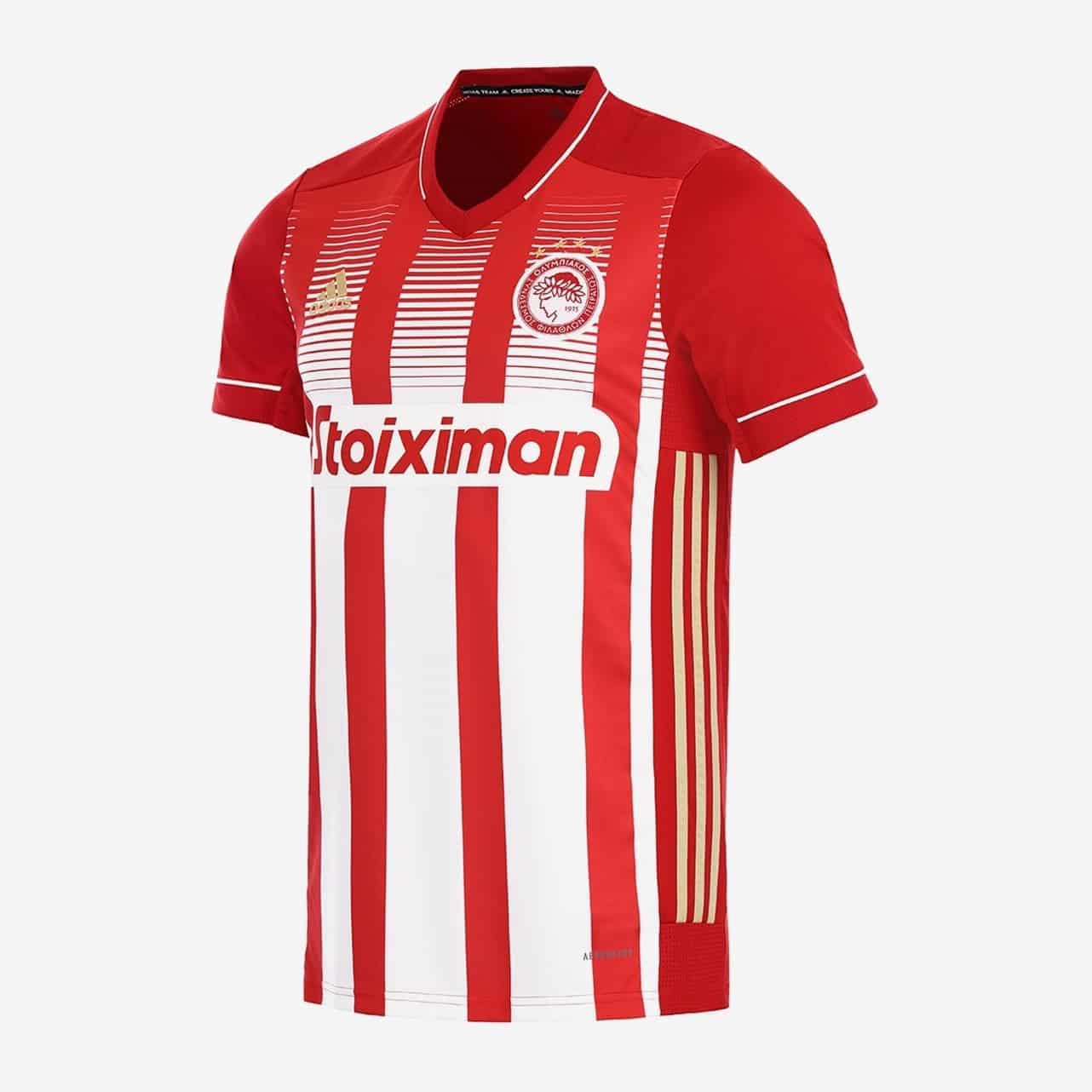maillot-domicile-olympiakos-2020-2021