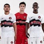 Des maillots «Champions League» pour le FC Midtjylland