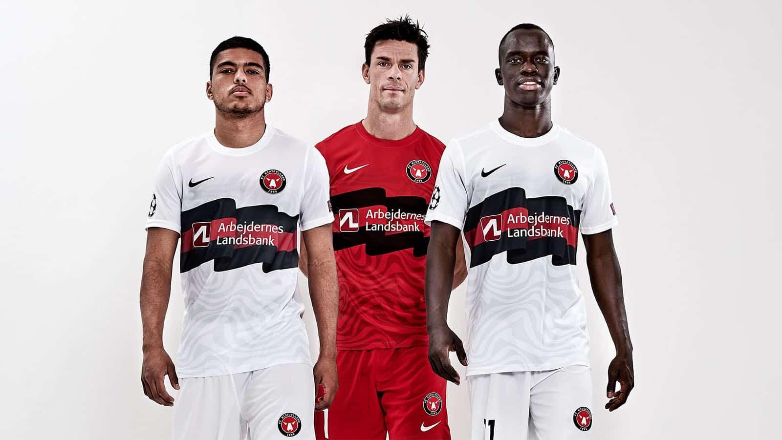 """Des maillots """"Champions League"""" pour le FC Midtjylland"""