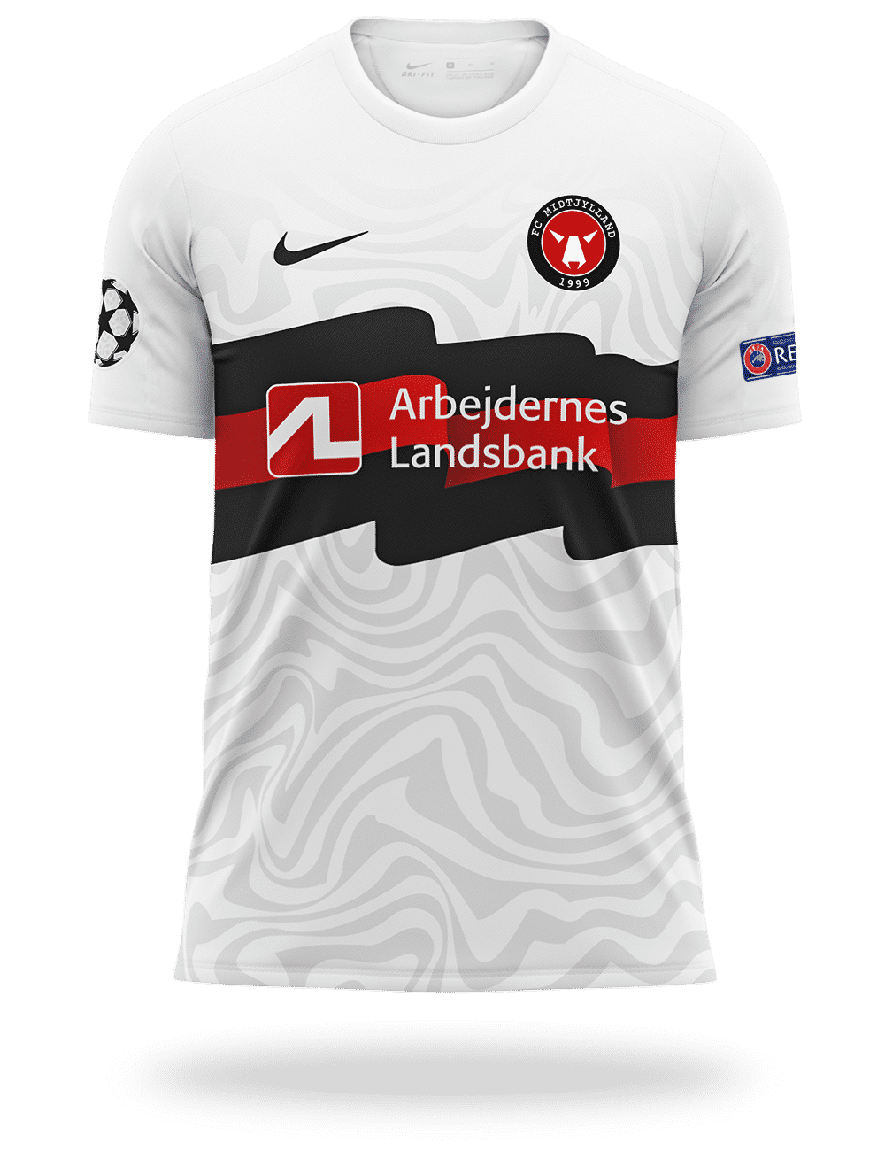 maillot-fc-MIDTJYLLAND-champions-league