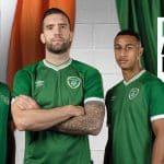 Désormais équipementier de l'Irlande, Umbro dévoile les nouveaux maillots