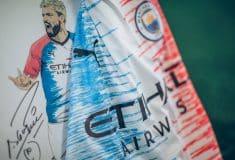 Image de l'article Un maillot de Manchester City dessiné par une fillette de 9 ans