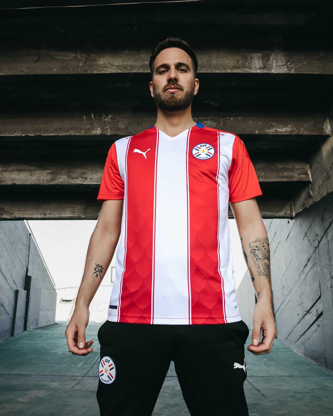 maillot-paraguay-domicile-2020-2021-puma-1