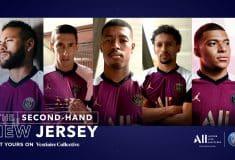 Image de l'article Les maillots portés de Neymar, Mbappé ou Di Maria à gagner grâce au sponsor du club