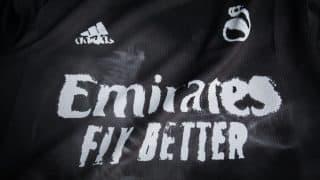 Image de l'article Le Real Madrid, mécontent du blason du maillot Humanrace dessiné par Pharrell
